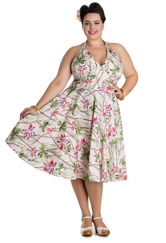 Hell Bunny Bamboo 50's Dress